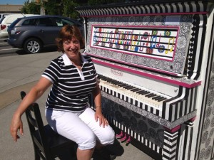 One of the new pianos this year!